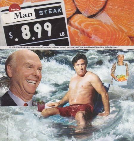 Man Steak by Laura Van Der Grient
